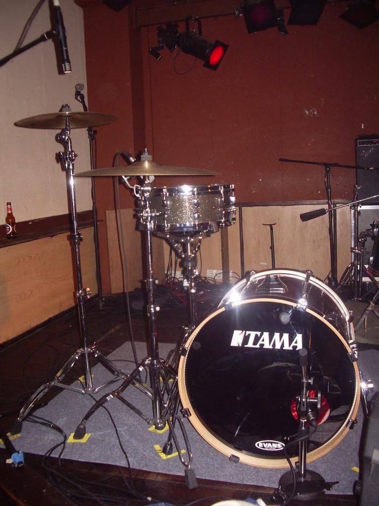 Slim Jim's drumkit