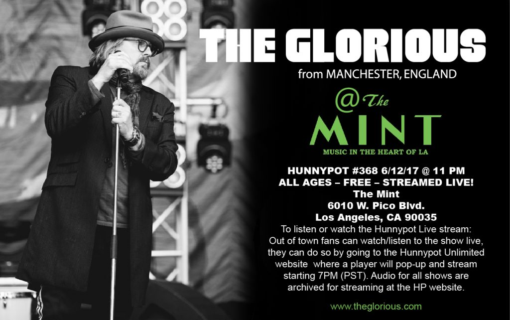 The Glorious - Live at the MINT